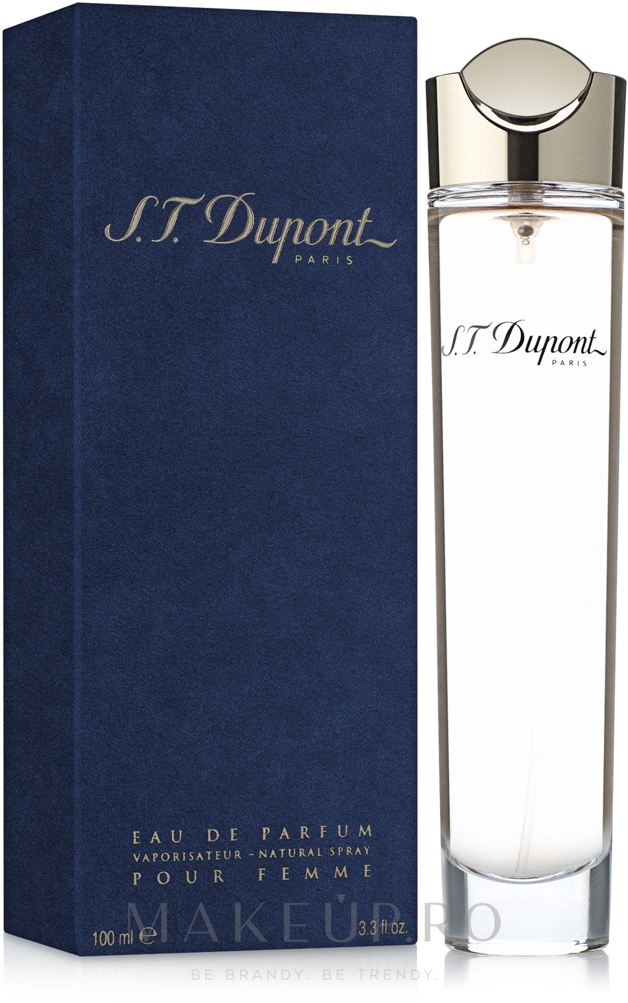 Dupont pour femme - Apă de parfum — Imagine 100 ml