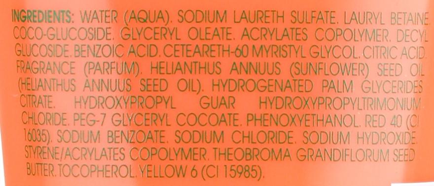 Cremă de duș - Klorane Cupuacu Rose Milk Nourishing Shower Cream — Imagine N3