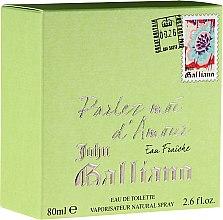 Parfumuri și produse cosmetice John Galliano Parlez-Moi d'Amour Eau Fraiche - Apă de toaletă