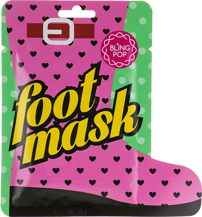 Mască-șosete cu unt de shea - Bling Pop Shea Butter Healing Foot Mask