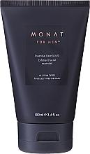 Parfumuri și produse cosmetice Scrub micro exfoliant pentru față - Monat For Men Essential Face Scrub