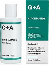 Parfumuri și produse cosmetice Toner hidratant pentru față - Q+A Niacinamide Daily Toner