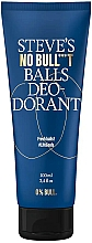 Parfumuri și produse cosmetice Deodorant - Steve`s No Bull***t Balls Deo-dorant
