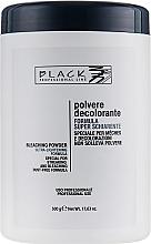 Parfumuri și produse cosmetice Pudră decolorantă pentru păr, albastru (borcan) - Black Professional Line Bleaching Powder Blue