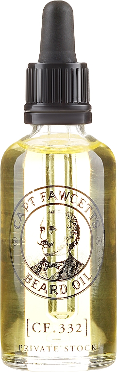 Ulei pentru barbă - Captain Fawcett Beard Oil — Imagine N5
