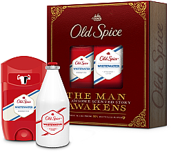 Parfumuri și produse cosmetice Set - Old Spice Whitewater Vintage (deo/50ml + ash/lot/100ml)
