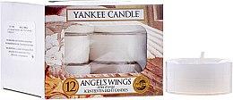 Parfumuri și produse cosmetice Lumânări pastile - Yankee Candle Scented Tea Light Candles Angel`s Wings