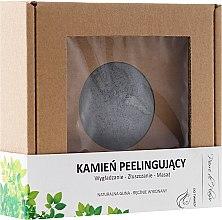Parfumuri și produse cosmetice Piatră naturală pentru peeling facial, gri - Pierre de Plaisir Natural Scrubbing Stone Face
