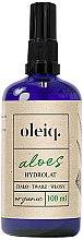 Parfumuri și produse cosmetice Hidrolat de Aloe pentru față, corp și păr - Oleiq Hydrolat Aloe