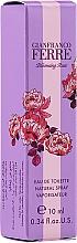 Parfumuri și produse cosmetice Gianfranco Ferre Blooming Rose - Apă de toaletă (mini)
