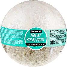 Parfumuri și produse cosmetice Bilă efervescentă pentru baie - Beauty Jar Treat Your Feet Foot Bath&Scrub