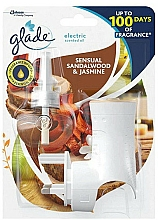 Parfumuri și produse cosmetice Difuzor Aromatic, electric, cu rezervă - Glade Electric Air Freshener Bali Sensual Sandalwood & Jasmine Brise