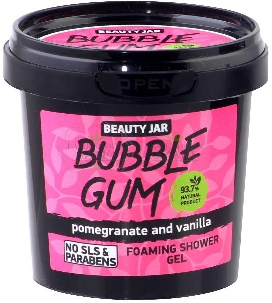 """Gel de duș """"Bubble Gum"""" - Beauty Jar Foaming Shower Gel"""