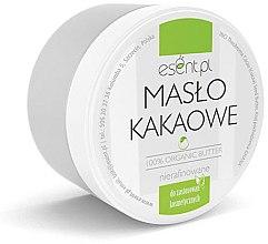 Parfumuri și produse cosmetice Unt organic de cacao, nerafinat - Esent