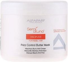Parfumuri și produse cosmetice Mască pentru părul neascultător - Alfaparf Semi di Lino Discipline Frizz Mask