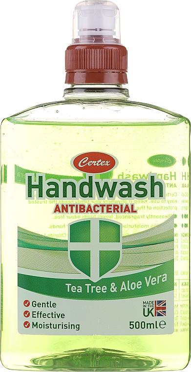 Săpun antibacterian pentru mâini - Certex Antibacterial Tea Tree & Aloe Vera Handwash