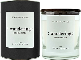 "Parfumuri și produse cosmetice Lumânare parfumată ""Fructe goji"" - Ambientair The Olphactory Wandering Goji Black Tea Black Design"