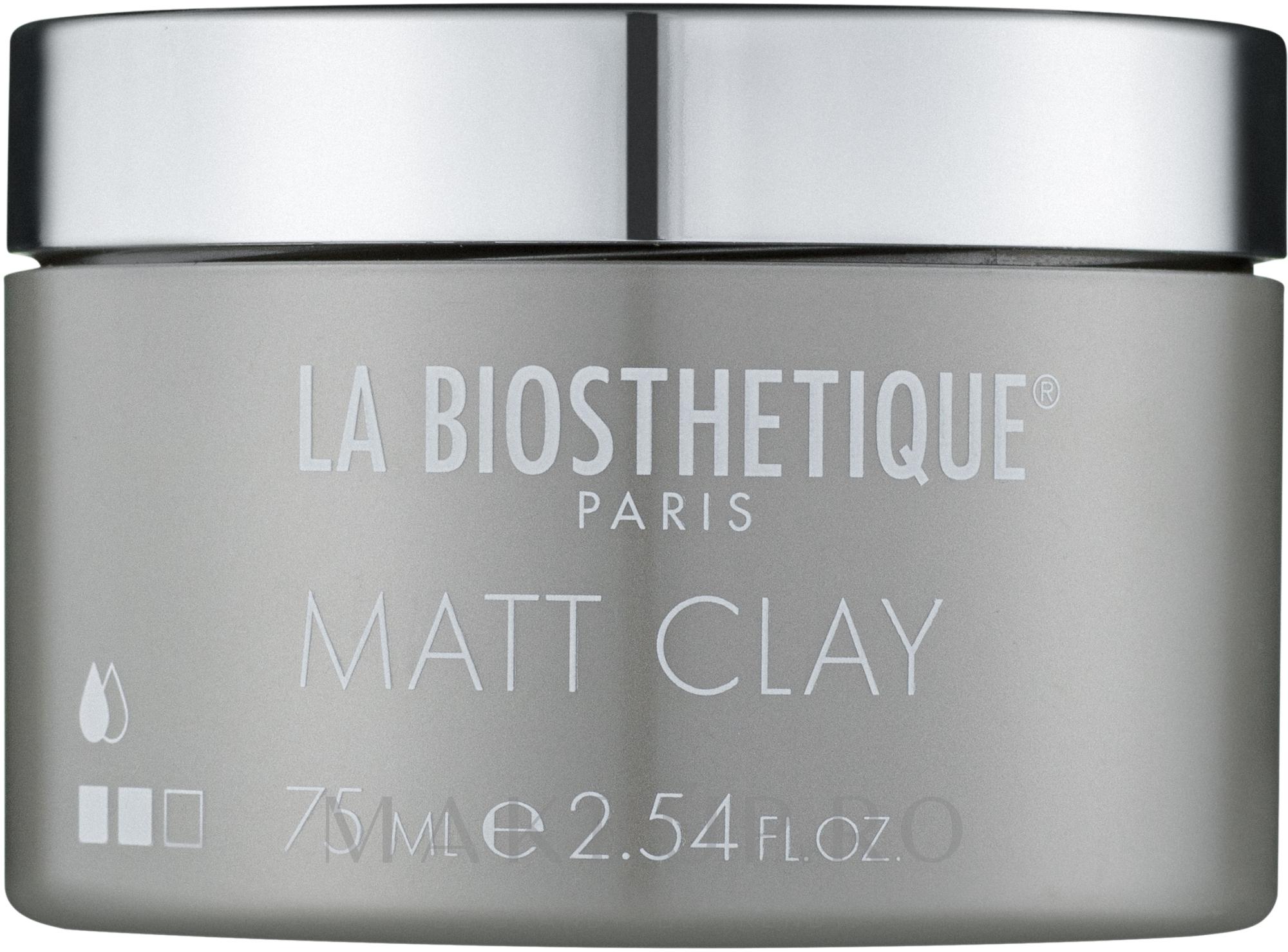 Pastă de modelare cu efect mat - La Biosthetique Paste — Imagine 75 ml
