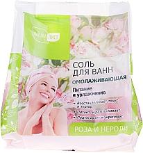 """Parfumuri și produse cosmetice Sare de baie """"Trandafir și Neroli"""" - NaturaList"""