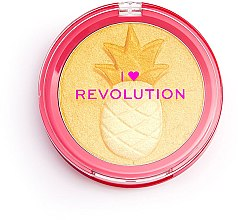Parfumuri și produse cosmetice Iluminator - I Heart Revolution Fruity Highlighter Pineapple