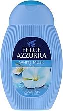 """Parfumuri și produse cosmetice Gel de duș """"Muscus alb"""" - Felce Azzurra Shower-Gel"""