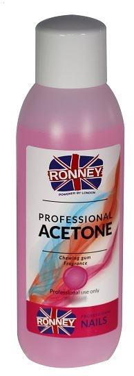 """Soluție pentru îndepărtarea ojei """"Chewing Gum"""" - Ronney Professional Acetone Chewing Gum"""