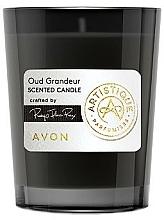 Parfumuri și produse cosmetice Avon Artistique Oud Grandeur - Lumânare aromată