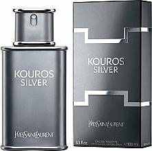 Parfumuri și produse cosmetice Yves Saint Laurent Kouros Silver - Apă de toaletă