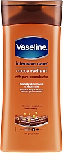 Parfumuri și produse cosmetice Loțiune hidratantă pentru corp - Vaseline Intensive Care Cocoa Radiant Lotion