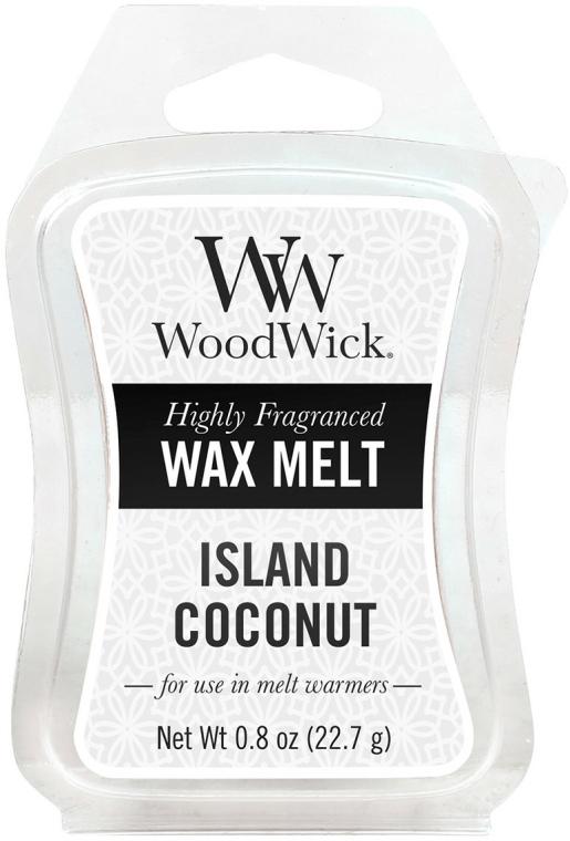 Ceară aromată - WoodWick Wax Melt Island Coconut — Imagine N1