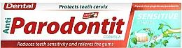 Parfumuri și produse cosmetice Pastă pentru dinți sensibili - Dental Anti-Parodontit Sensitive 7 Herbs