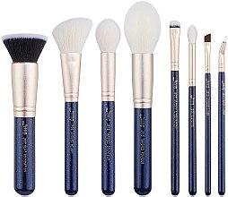 Parfumuri și produse cosmetice Set pensule de machiaj, T485, 8buc - Jessup