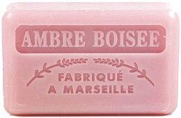 """Parfumuri și produse cosmetice Săpun de Marsilia """"Lemn Chihlimbar"""" - Foufour Savonnette Marseillaise Ambre Boisee"""