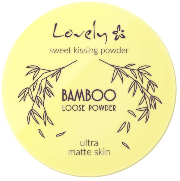 Pudra - Lovely Bamboo Loose Powder — Imagine N1