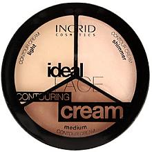 Parfumuri și produse cosmetice Paletă pentru conturul feței - Ingrid Cosmetics Ideal Face Countouring Cream