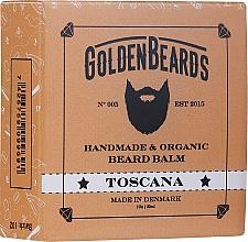 """Parfumuri și produse cosmetice Balsam pentru barbă """"Toscana"""" - Golden Beards Beard Balm"""