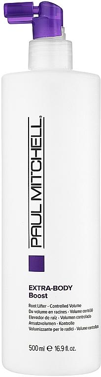 Spray pentru volum la rădăcina părului - Paul Mitchell Extra-Body Daily Boost — Imagine N2