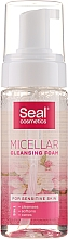 Parfumuri și produse cosmetice Spumă micelară pentru piele sensibilă - Seal Cosmetics Micellar Cleansing Foam