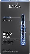 Parfumuri și produse cosmetice Fiole hidratante pentru față - Babor Ampoule Concentrates Hydra Plus