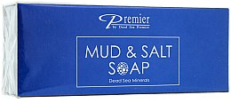 Parfumuri și produse cosmetice Set - Premier Kit Mud and Salt (soap/100g + soap/100g)