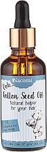 Parfumuri și produse cosmetice Ulei din semințe de bumbac - Nacomi Cotton Seed Oil