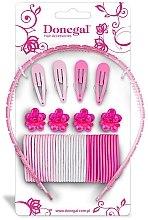 Parfumuri și produse cosmetice Set de accesorii pentru păr FA-5478, 43 bucăți - Donegal