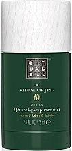 Parfumuri și produse cosmetice Deodorant antiperspirant - Rituals The Ritual of Jing Anti-Perspirant Stick