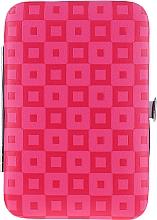 Parfumuri și produse cosmetice Set pentru manichiură și pedichiură, 6 piese 79696, roz - Top Choice