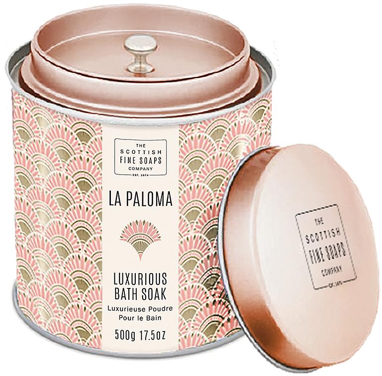 Scottish Fine Soaps La Paloma - Pudră parfumată pentru baie