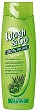 Parfumuri și produse cosmetice Șampon - Wash&Go