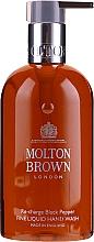 Parfumuri și produse cosmetice Molton Brown Black Peppercorn Fine Liquid Hand Wash - Cremă de mâini cu flori de cireș și ulei de jojoba