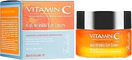 Parfumuri și produse cosmetice Cremă antirid pentru pleoape - Frulatte Vitamin C Anti-Wrinkle Eye Cream