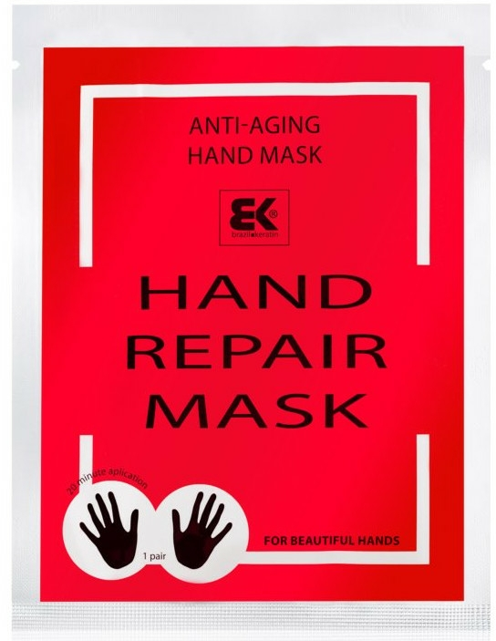 Mască hidratantă pentru mâini - Brazil Keratin Hand Rapair Mask — Imagine N1