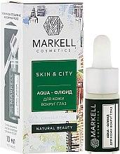 Parfumuri și produse cosmetice Agua-soluție pentru pielea din jurul ochilor - Markell Cosmetics Skin&City Face Mask